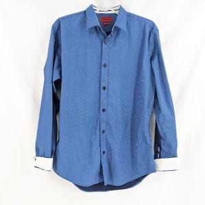 Zara Man Blue Button Down Shirt